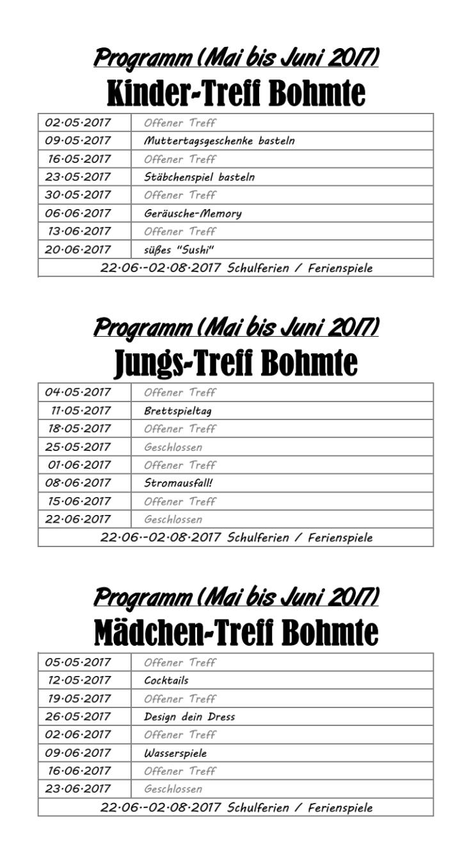 Programm Bohmte 05-2017